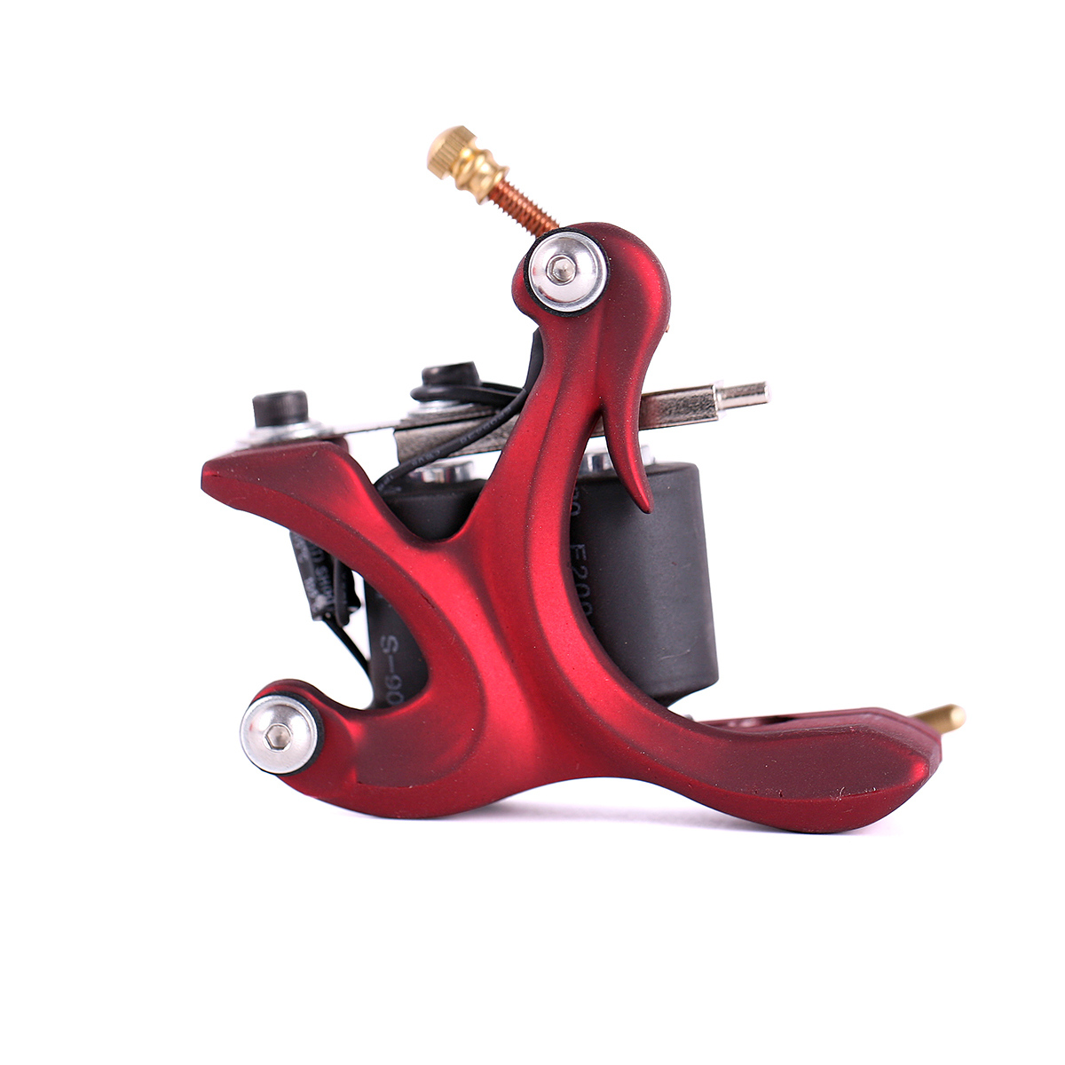 Z300 Red Handmade Professional Rotary Tattoo Machine Kit 8 Wrap Coils Tattoo Liner Shader Gun Free Shipping(China (Mainland))