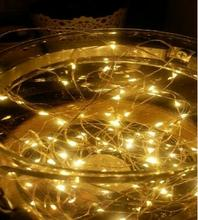 100CM 100Leds Waterproof Led String Light 3AA Battery Powered Star Fairy Holiday Lights In Red Blue Green White Color Led Lamp(China (Mainland))