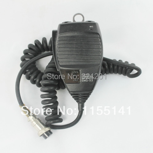 New EMS-53 Hand Mic Microphone for Alinco radio DR430/DR635/DR435/DR135/DR620 8pin with free shipping(China (Mainland))