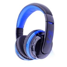 Bluetooth Wireless Gaming Headset Auriculares Estéreo Bajo Estupendo con 145 Degaree Ajustable MIC 3.5mm Apoyo TF Card # EB24