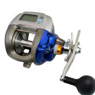 Olympus k1a sea king 3000 digital ship wheel fish reel for Digital fishing reel