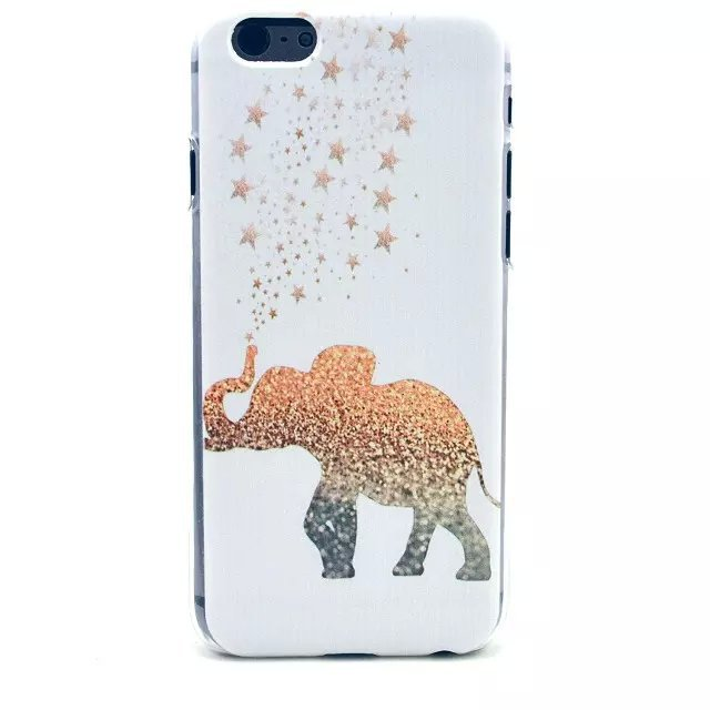 For iphone 6 / 4.7 inch African elephant, cat,, ice cream, giraffe, cat coffee, fruit salad, flowers, bells, watermelons(China (Mainland))