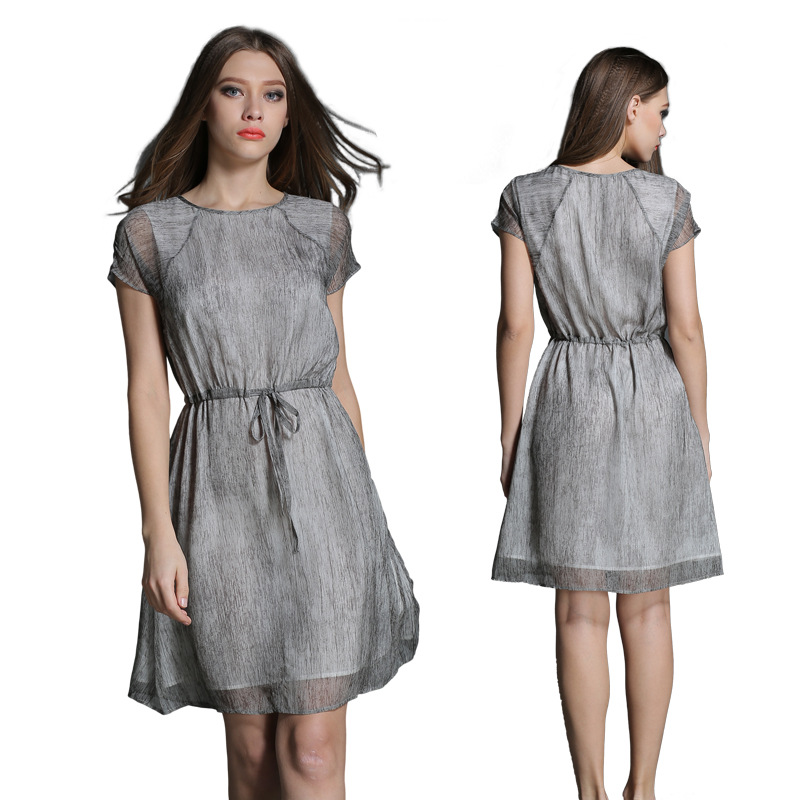Try on a plus size strapless dress and pair it with a flowing asymmetrical hem skirt. For a short skirt look, there is an empire waist dress from Ruby Rox for you. A strapless empire waist dress from Soprano adds a little sophistication.