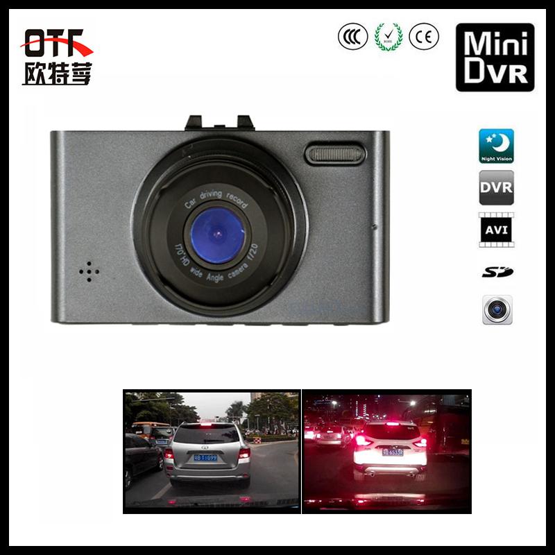 "2.7"" LCD display car black box mini dash cam night vision tachograph vehicle travelling data recorder 1080p logger free shipping(China (Mainland))"