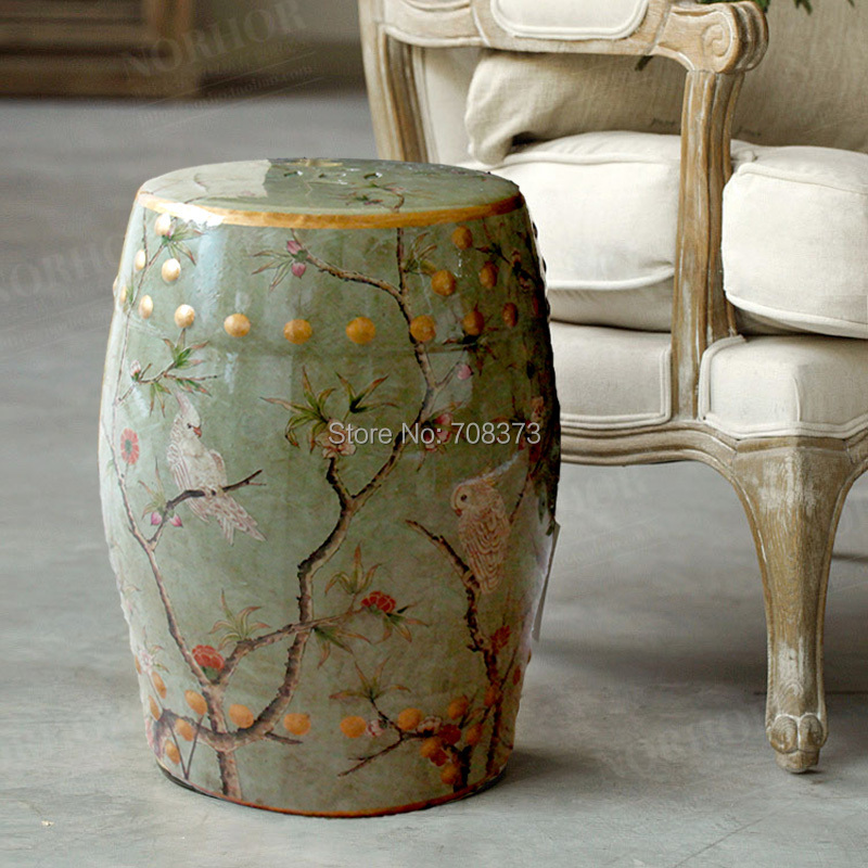 Buy modern chinese tall parrot ceramic for Home furniture accessories