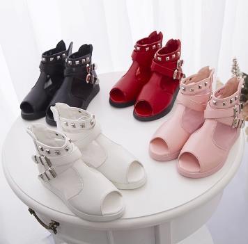 Girls princess shoes spring summer 2016 children loafers single high dress wedding shoes chaussure enfant fille 460b<br><br>Aliexpress