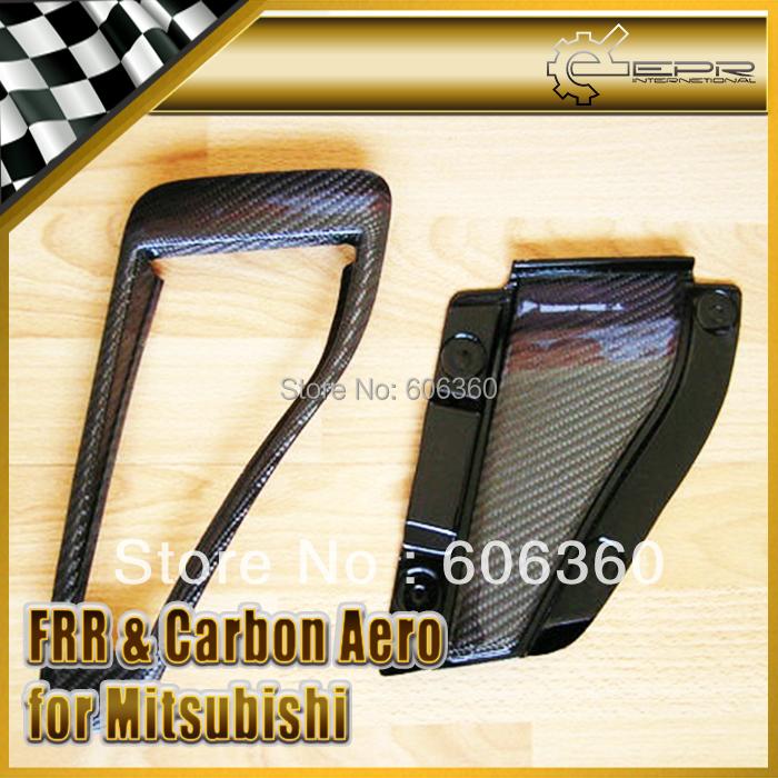 For Mitsubishi Evolution Evo 5 6 Carbon Fiber OEM Naca Hood Vents Duct(China (Mainland))