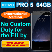 "Meizu origine Pro 5 Pro5 international 4 G LTE Mobile téléphone Exynos 7420 Octa core 5.7 "" 1920 x 1080 4 GB RAM 64 GB ROM 21.16MP(China (Mainland))"