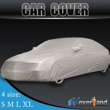 Hot sale Outdoor Full Car Cover Waterproof Sun UV Snow Dust Rain Resistant Protection Size S M L XL Car covers Free shipping C10(China (Mainland))