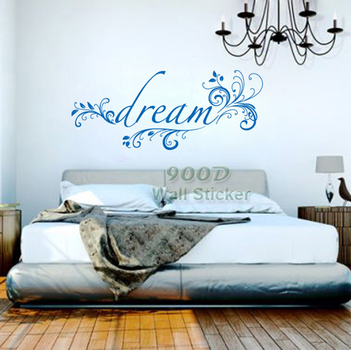 Buy Big Dream Quote Wall Stickers Diy Bedroom Decoration Removable Wall Decal