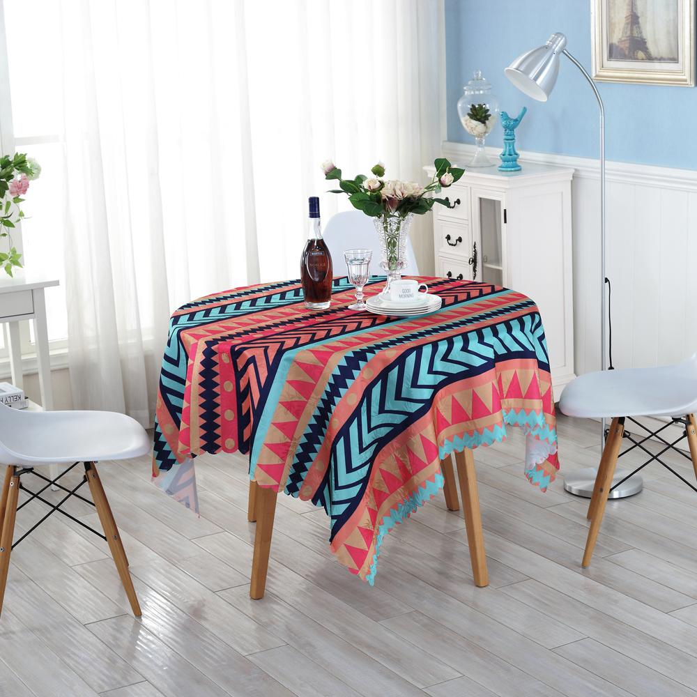 A Variety of Colors Striped Round Tablecloths European Style Cloth on The Table Hotels Outdoor Home Table Cloth ZM-9(China (Mainland))