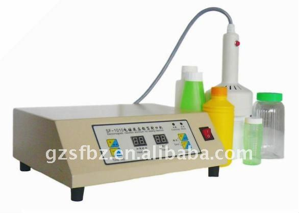 SF-1010 Manual bottle sealing packing machine