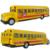 Classic school bus plain WARRIOR music car model toy birthday gift