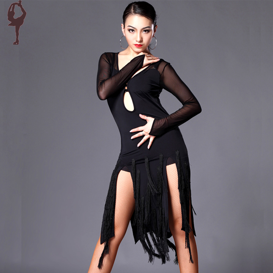 2015 Latin Dance Dress Women Cha Cha/Rumba/Samba/Tango ...