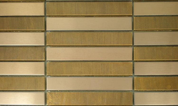 Aliexpress.com : mosaiken üppigen metall fliesen edelstahl kupfer ...