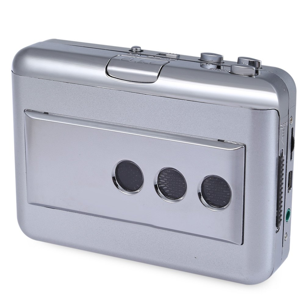 Brand New Ezcap218B Portable Music Cassette to MP3 Converter Support Converting Outgoing Audio