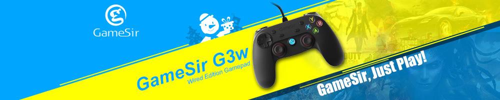 ถูก Gamesir G3wสายGamepadควบคุมสำหรับA Ndroidมาร์ทโฟนแท็บเล็ตพีซีที่มี,กล่องใส่นามบัตร
