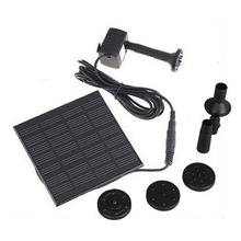 Solar Pump For Water Cycle/Pond Fountain/Rockery Fountain, H4009, freeshipping Wholesale(China (Mainland))