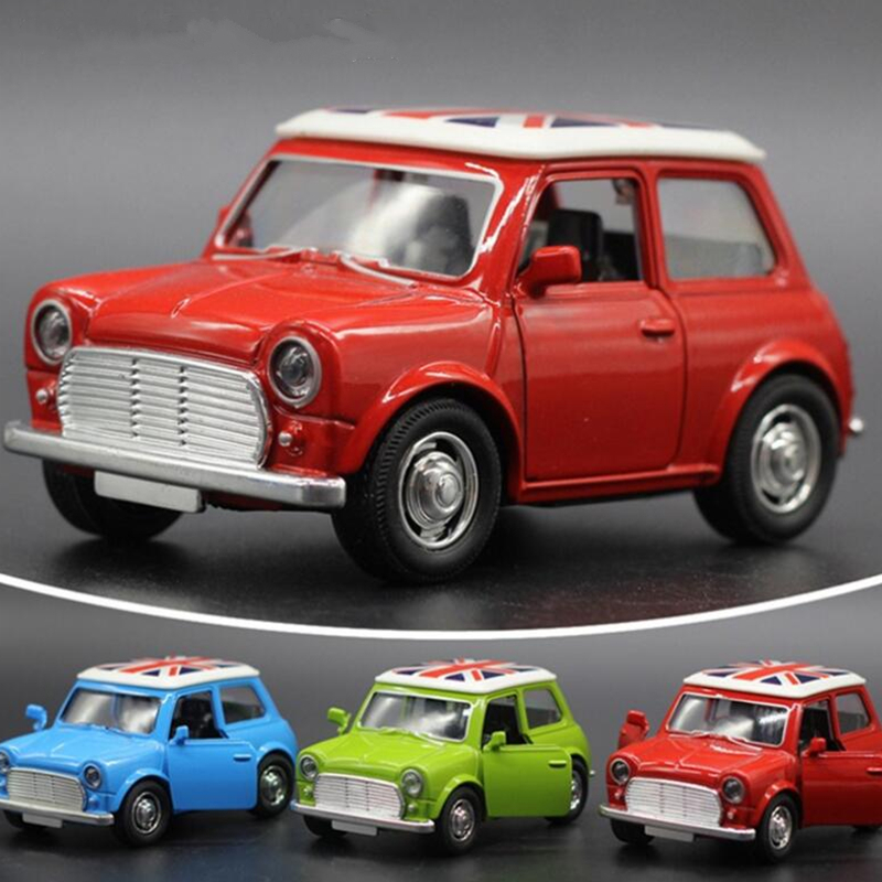 Toy Cars For Boys Mini Cooper Alloy Car Baby Kids Toys For Children Scale Models Pull Back Toys Boy Brinquedos Juguetes 2016 New(China (Mainland))