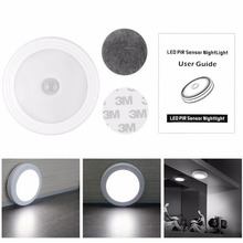LED motion sensor night light wall lamp with Infrared IR sensor for bedroom hallway cabinet stairwells(China (Mainland))