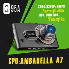 G95A Car DVR Ambarella A7LA50 Car Video Recorder Full HD 1080P 2 7 inch LCD HDR