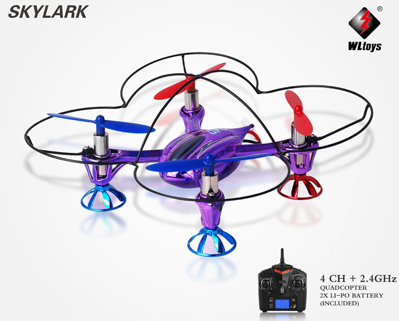 WLtoys V252 Quadcopter 4CH 2.4G 6Axis gyro 3D easy fly mini UFO quad copter aircraft WL v252 remote control helicopter(China (Mainland))