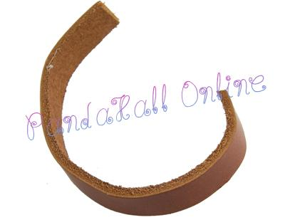 Cowhide Leather Cord, Leather Jewelry Cord, SaddleBrown, about 10mm wide, 2.5mm thick<br><br>Aliexpress