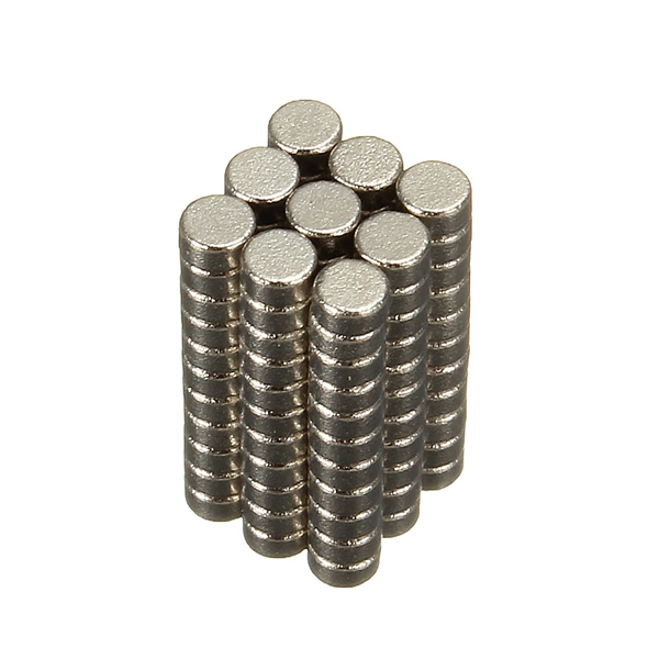 Гаджет  200pcs/lot N50 Rare Earth Neodymium Magnets Discs Round Cylinder Neodymium Magnet 2x1mm Best Price None Строительство и Недвижимость