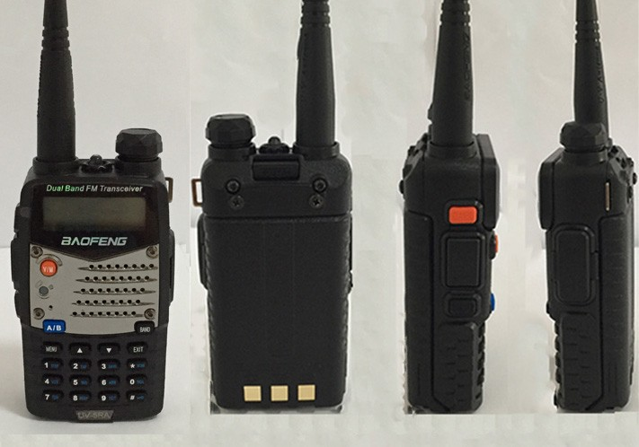 New Waterproof Pofung Baofeng UV-5RA For Police Walkie Talkies Scanner Radio Vhf Uhf Dual Band Cb Ham Radio Transceiver 136-174 (19)