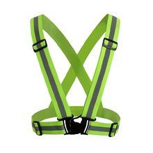 4 couleur 360 degrés haute visibilité néon gilet de sécurité réfléchissant ceinture gilet de sécurité pour les Sports de course de cyclisme Chaleco Reflectante(China (Mainland))