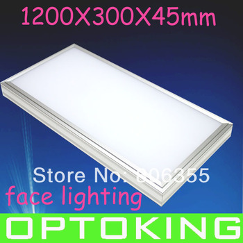 LED PANEL 120X30CM,  HIGH LUMINE , CONVENIENT INSTALLATION OR HANGING INSTALLATION ,FREE  SHIPPING