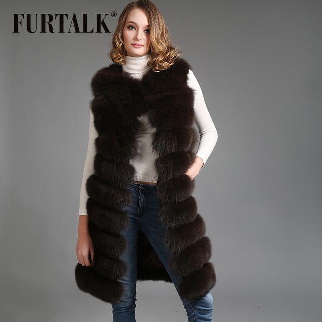 Warmful весь комплект лиса шубной зимний россии лиса шубу меховой жилет натуральный ...