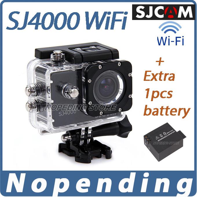 Original SJCAM SJ4000 WiFi HD Camera Camcorders Sport Camera for Gopro Waterproof Novatek 1.5