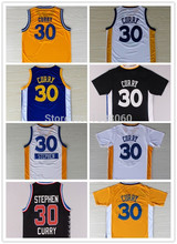 2015 New Cheap #30 Stephen Curry Jerseys New Material REV 30 Mens Basketball Jersey Genuine Sports Shirt White Gold Black Jersey(China (Mainland))