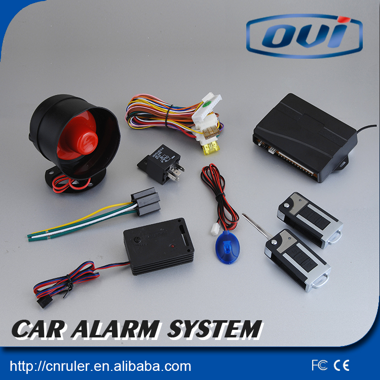 New auto smart car alarm ,have 7 years OEM/ODM car security system(China (Mainland))