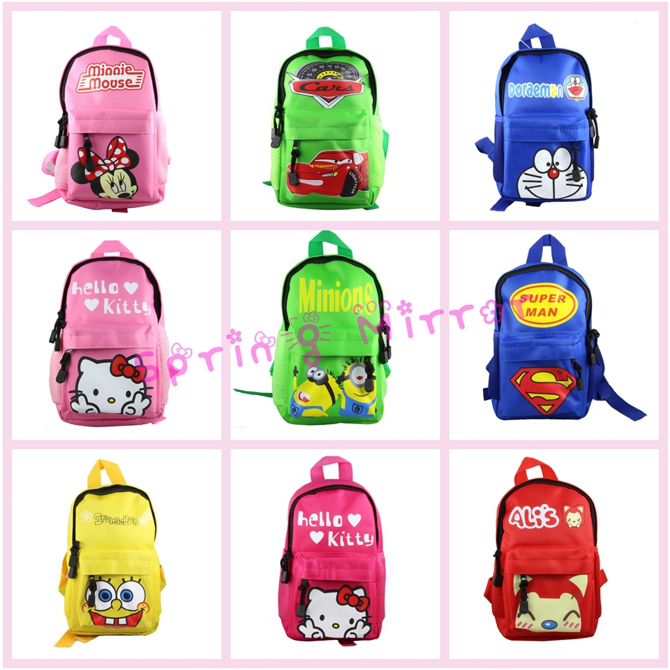 NEW Arrival School Bags Alternatives Cute Lovely Character ...