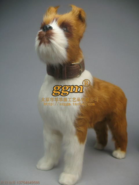 Boxer Dog Stuffed Animals Boxer Animal Model Dog Props