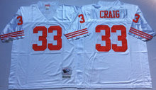 Throwback 8 Steve Young 16 Joe Montana 42 Ronnie Lott 80 Jerry Rice 21 Deion Sanders 33 Roger Craig 44 Tom Rathman(China (Mainland))