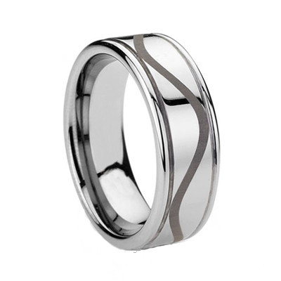 Tungsten Men Rings