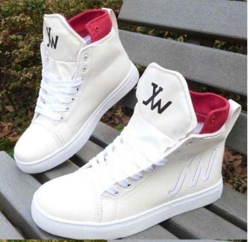 2015 new Fashion tide shoes high top men shoes for hip hop ...