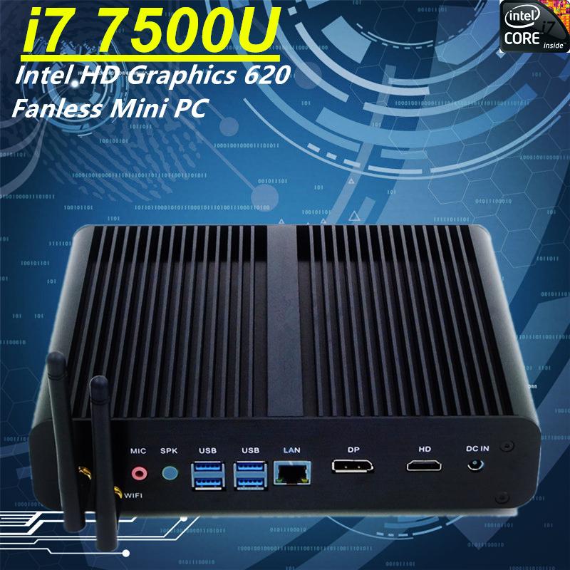 New Products 2017 Innovative Product Best Mini PC Windows 10 SSD 500 GB i7 7500u Wifi Bluetooth Optional Desktop Computers(China (Mainland))