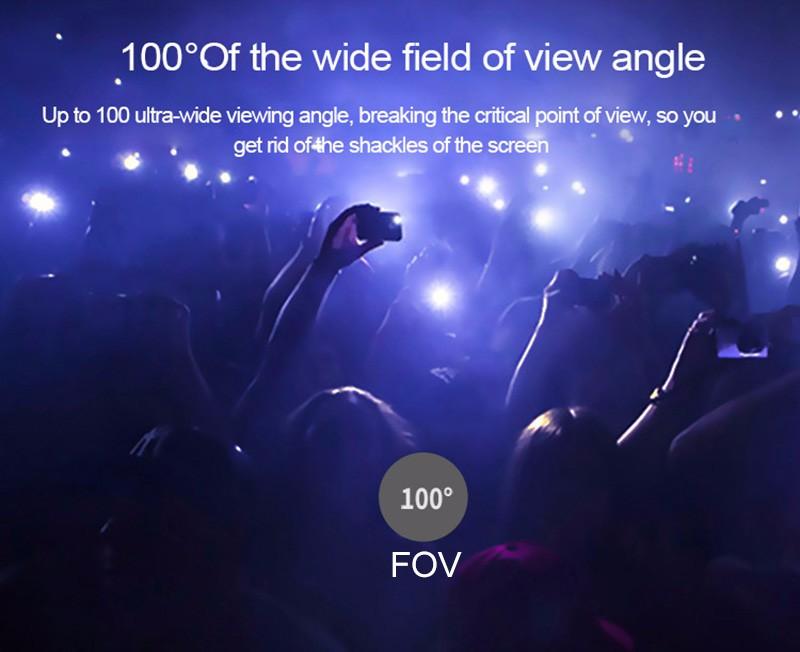 ถูก VR SKYทั้งหมดในหนึ่งVRแว่นตาในอนาคตเป็นComeingที่มีทัชแพดของขวัญ+บลูทูธระยะไกลVR-SKY-all-in-one-BL