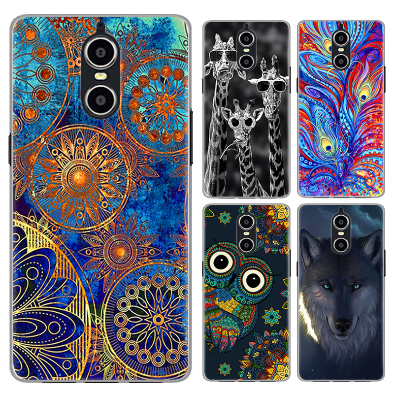 Doogee Shoot 1 Protective Soft TPU Colored Printing Cell Phone Cases silicone TPU colorful painting patterns back cover
