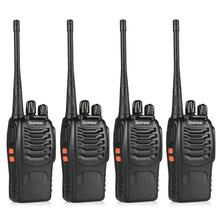 4pcs BaoFeng BF-888S Walkie Talkie UHF400-470MHZ Portable Ham baofeng 888s CB Radio(China (Mainland))