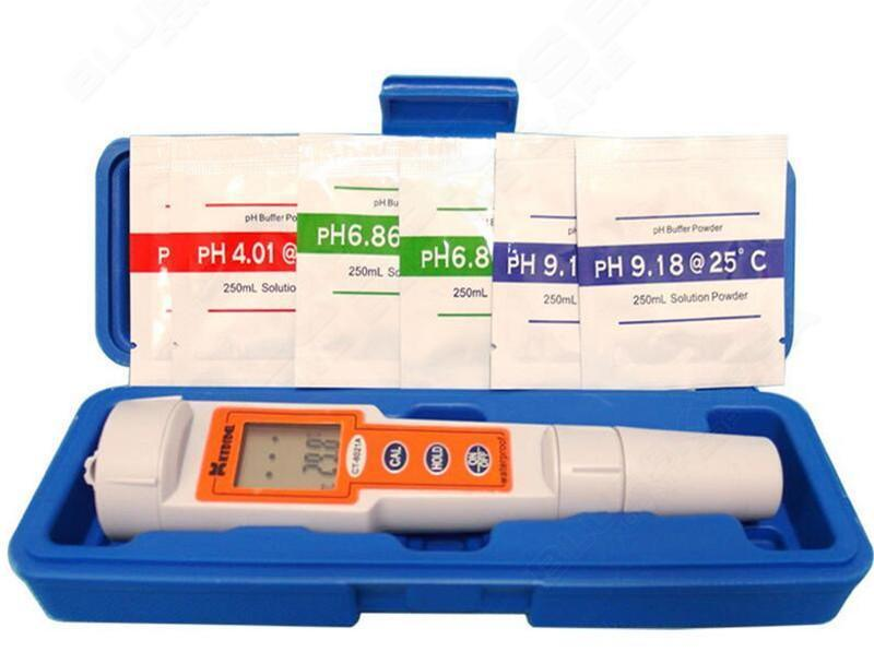Free delivery! Waterproof Moveable pH Meter Precision Digital pH / Temp Tester – Pen Model