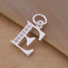 Письмо AS Бесплатная Доставка посеребренная Ожерелье, марка 925 мода серебряные ювелирные изделия Мода Подвеска/XYLQNNAG XYLQNNAG(China (Mainland))