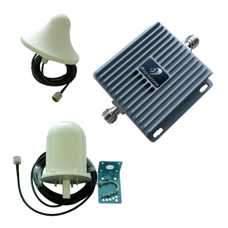 60dB 850/1700MHz 3G GMS AWS Cell Phone Signal Repeater Complete Kit(China (Mainland))