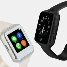 Intelligente montre SW88 Smartwatch avec GSM SIM TF carte Scratch – preuve UV Test moniteur de fréquence cardiaque pour Andriod SmartPhone Huawei