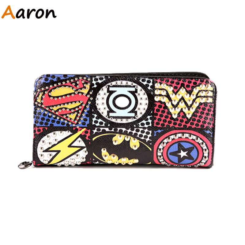 Aaron - Colorful Style Designer Character Leather Pass Case Wallet For Mens,Fashion Clutch Cards Holder Pocket Purse For Male <br><br>Aliexpress