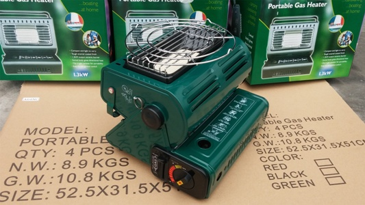 2015 double New Portable gas heater/gas cooker for outdoor camping(China (Mainland))
